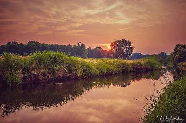 Sunset at the River