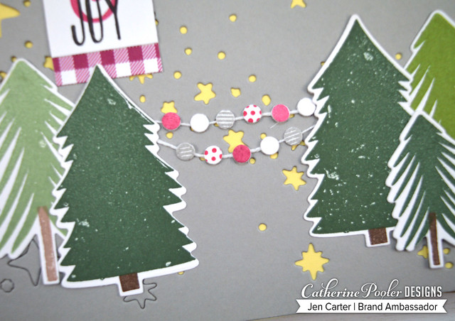 Christmas Tree Farm Starry Night Cover Banner Closeup JDC