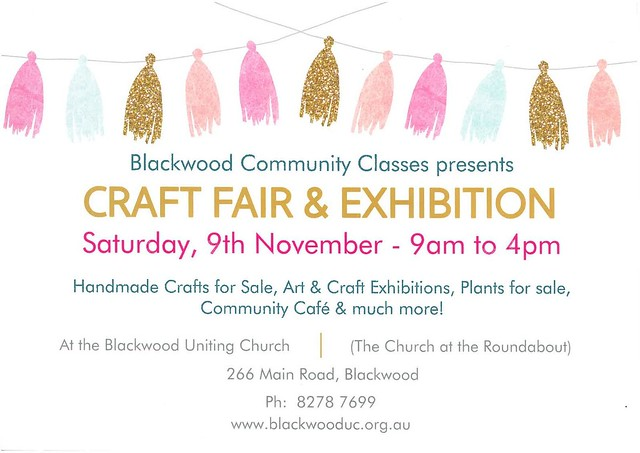 Blackwood Community Classes Craft Fair & Exhibition