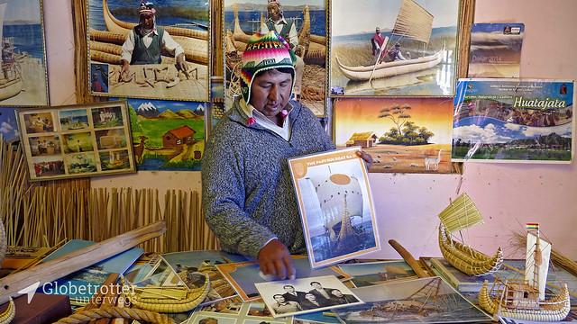 Huatajata | Schilfbootmuseum, Paulino Esteban jr.