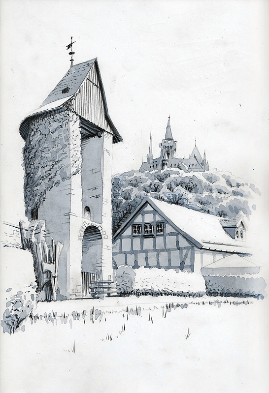 Wernigerode Malerblick … again