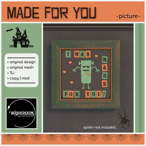 Widdershins - Made For You Picture