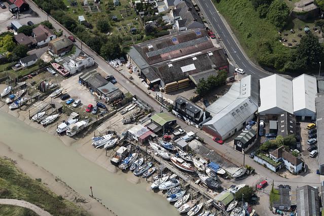 Rye aerial image