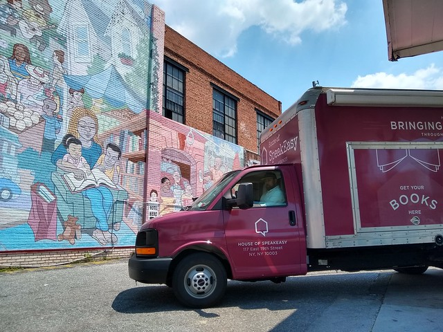 SpeakEasy's 2019 Book Truck Summer Road Trip