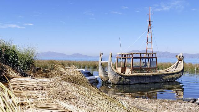 Huatajata | Schilfboot