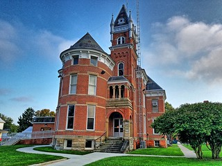 Wyandot County Jail- Upper Sandusky OH | by kevystew