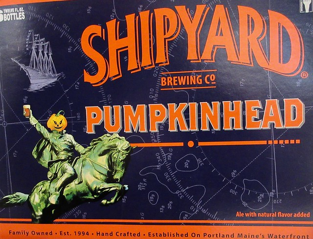 2019 Pumpkinhead Ale Beer - Sleepy Hollow Refugee Headless 5079