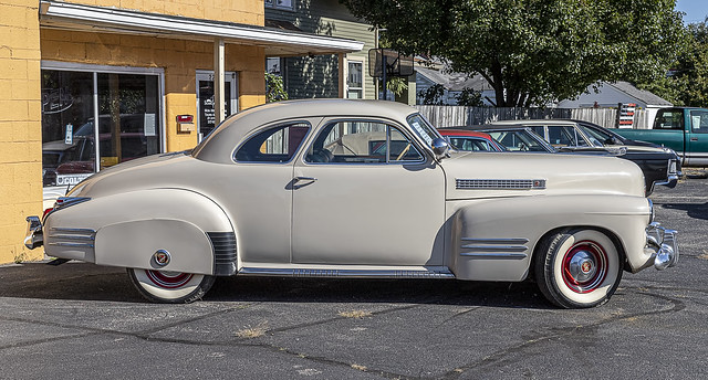 1941 Cadillac 62 Deluxe Coupe 30K