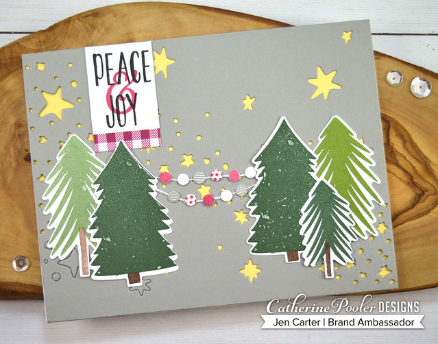 Christmas Tree Farm Starry Night Cover Banner JDC