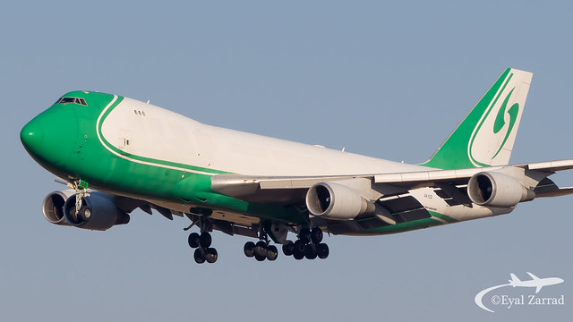 TLV - CAL Cargo Airlines Boeing 747-400Freighter 4X-ICD