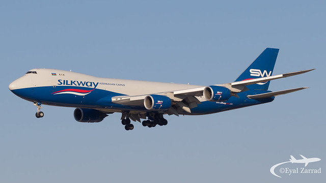 TLV - Silkway Boeing 747-8 Freighter VQ-BWY