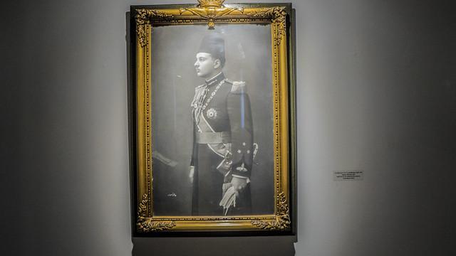 King Farouk of Egypt and Sudan's official portrait
