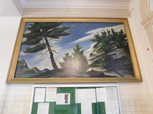 Portland, Maine Post Office Mural