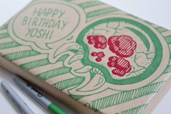 Gift Wrap Decoration: Metroid Close Up
