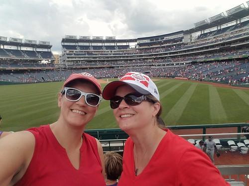 Sarah & Me at Nats Park