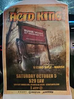 Acid King / Warish / Wizard Rifle