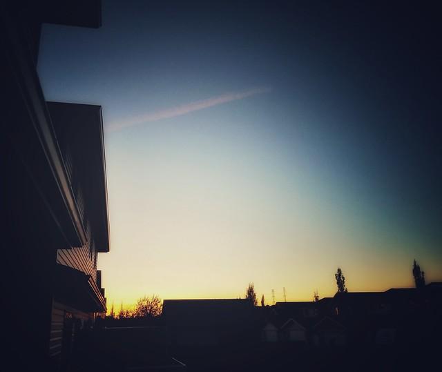 Cold Sunset / Edmonton AB,Canada