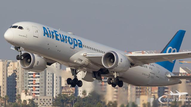 TLV - Air Europa Boeing 787-9 EC-MTI