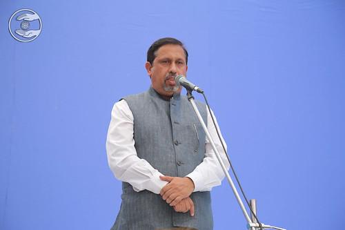 Joginder Sukhija presented speech, Avtar Enclave, DL