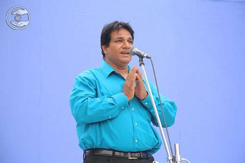 Vinod Verma presented a devotional song, Dhuri, PB