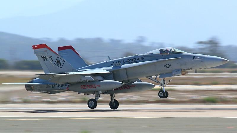 IMG_6063 F/A-18 Hornet Taking Off, MCAS Miramar Air Show