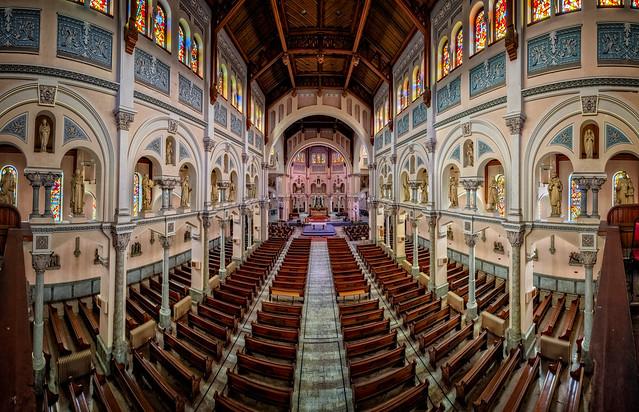 Saint Anne's Church Panorama