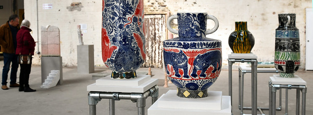 A slice of the exhibits at the 2019 Stoke Ceramics Bienniel