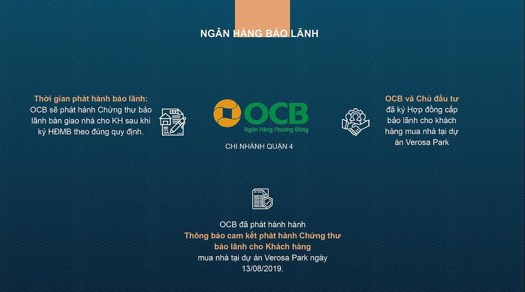 Ngân hàng OCB bảo lãnh Verosa Park