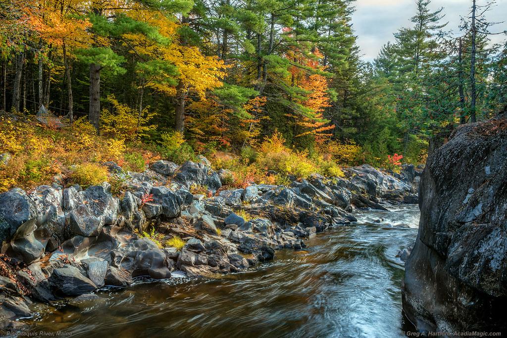Barrows Falls, Maine