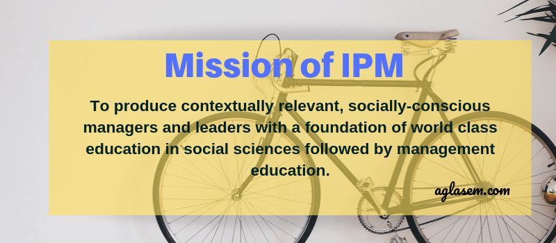 Mission of IPM