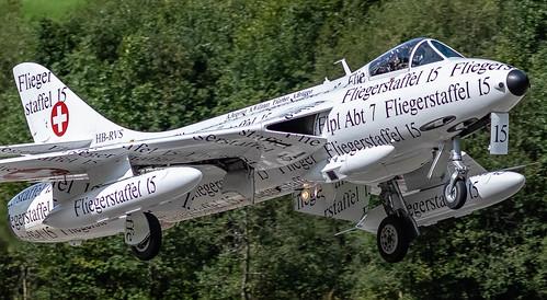 LSTS: SwissAirForce (Historical) HawkerHunter T.MK.68 J4015 HB-RVS