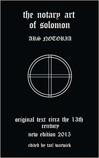 Ars Notoria – The Notary Art of Solomon