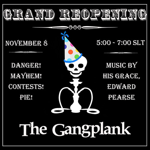 The Gangplank Grand Reopening