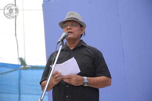 Jagat Geetkar presented a devotional song