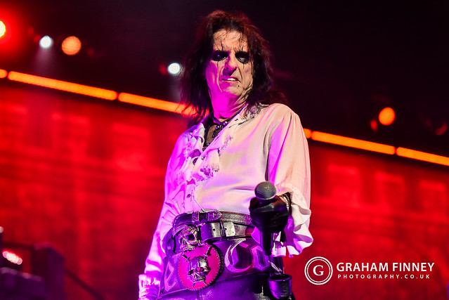 Alice Cooper @ First Direct Arena (Leeds, UK) on October 7, 2019
