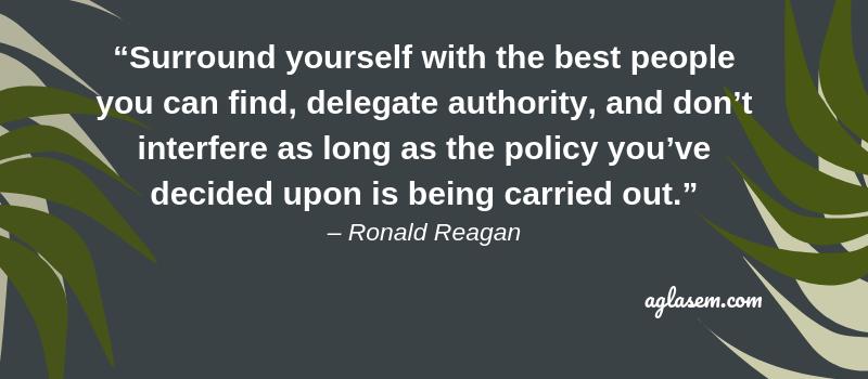 Quote of Ronald Reagan