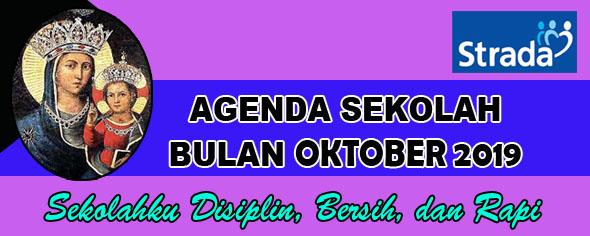 Agenda Kegiatan Bulan Oktober 2019