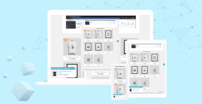 leo popup sale pro prestashop module - responsive interface