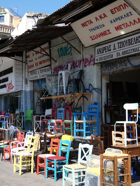 chaises grecques