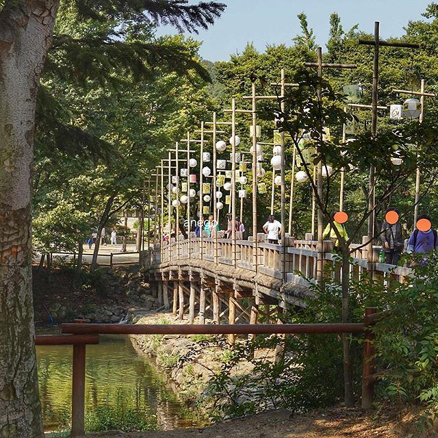 韓国民俗村。