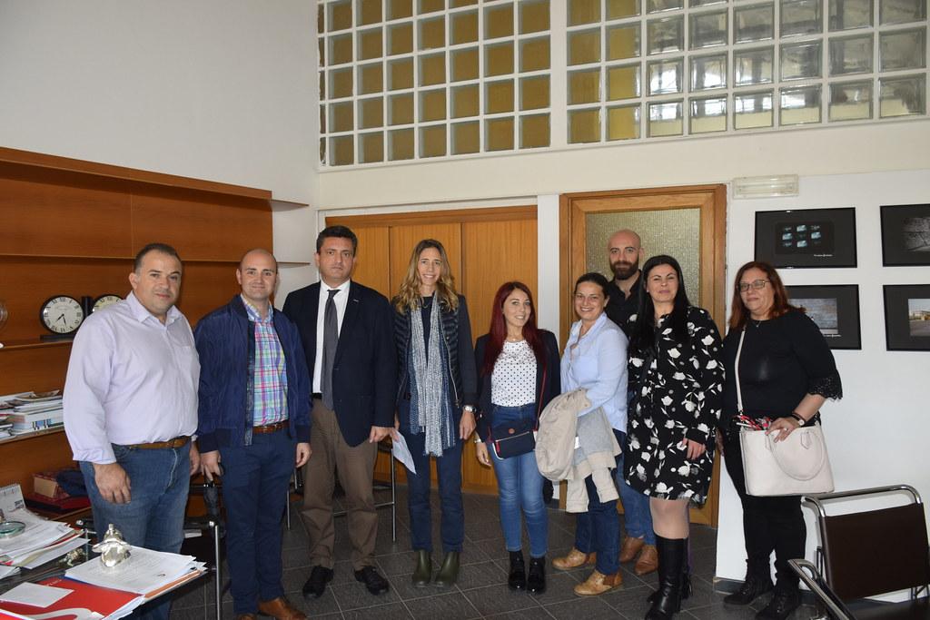 Lo staff del Science Centre di Malta in visita a Città della Scienza