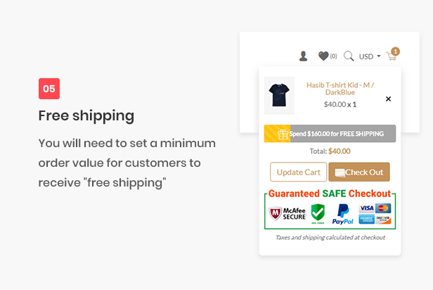 ALL-IN-ONE shopify theme - free shiping