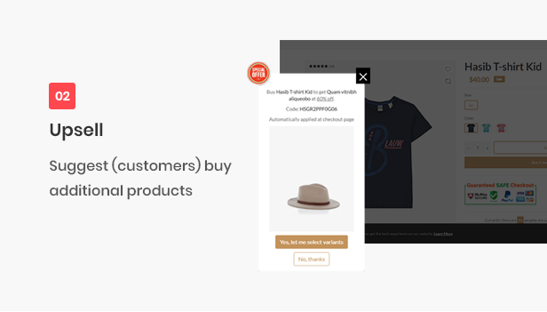 ALL-IN-ONE shopify theme - upsell