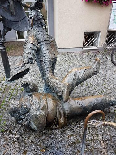 Narrenbrunnen in Gengenbach