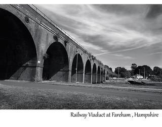 Railway Viaduct Fareham by howard kendall
