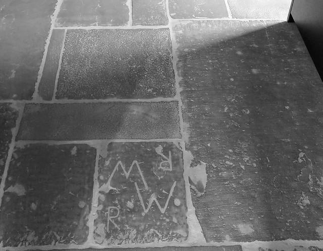 Initialen keukenvloer RAW stones