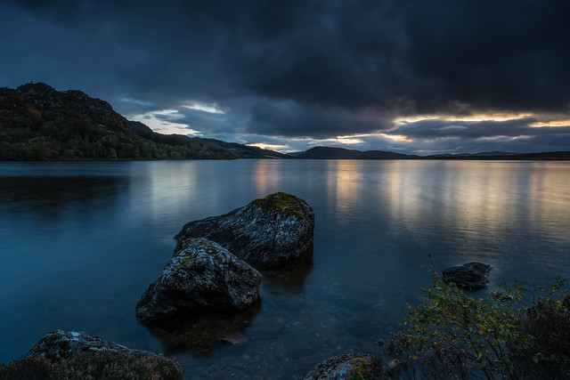 Blue Hour Duntelchaig.