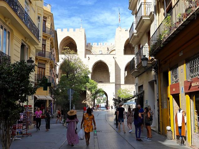 Carrer dels Serrans / Torres de Serranos / Valencia