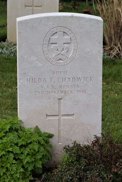H. Chadwick, British Red Cross, War Grave, 1918, St. Albans