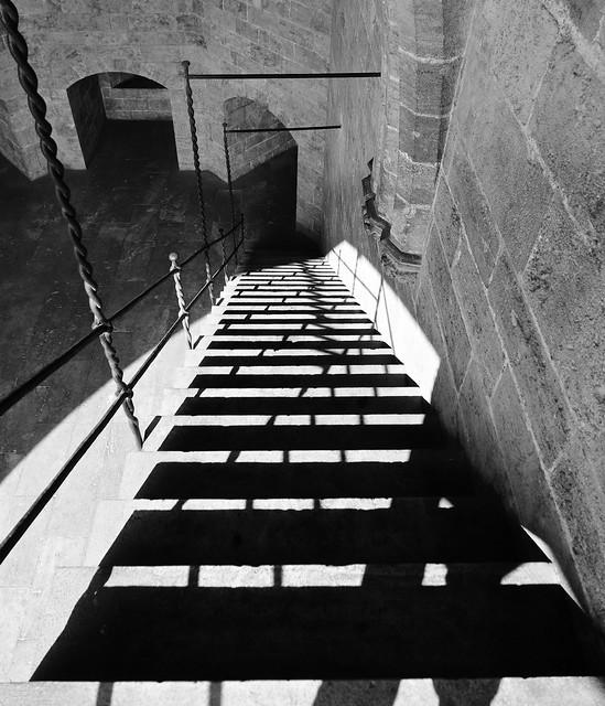 Stairs / Torres de Serranos / Valencia